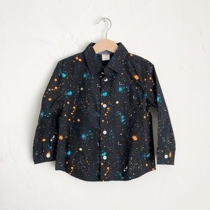 NWT Gymboree Button Down Shirt Size 3T